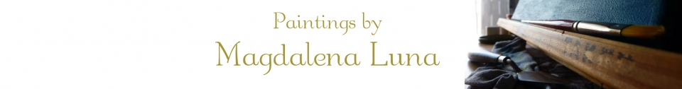 Paintings by Magdalena Luna Banner